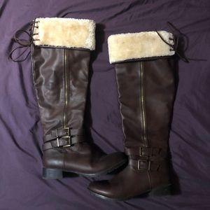 Justfab knee high boots